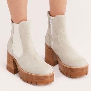 Jeffrey Campbell Preston Platform Ankle Boots